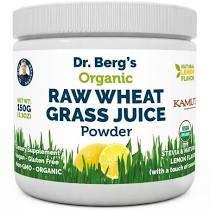Dr Berg Raw Wheat Grass Juice Powder (Lemon Flavor)