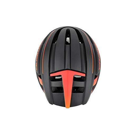 Odoukey Fahrradhelm, abnehmbare Magnetbrille Maske und einstellbare Größe UV-Schutz-Berg und Rennrad Reithelm