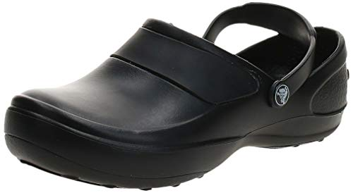 crocs Women#039s Mercy Clog Black/Black 10 M US