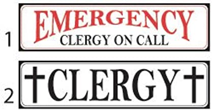 VictoryStore Window Signs - Clergy Signs - 3