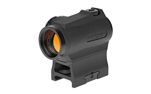 Price comparison product image HOLOSUN HS403R Micro Reflex Sight,  Black,  2 MOA Red Dot,  10DL & 2NV Brightness Settings,  Rotary Switch,  Multi-Layer Coating,  Waterproof IP67,  w / Lower 1 / 3 Height Mount & Low Base,  CR2032,  100, 000 hrs