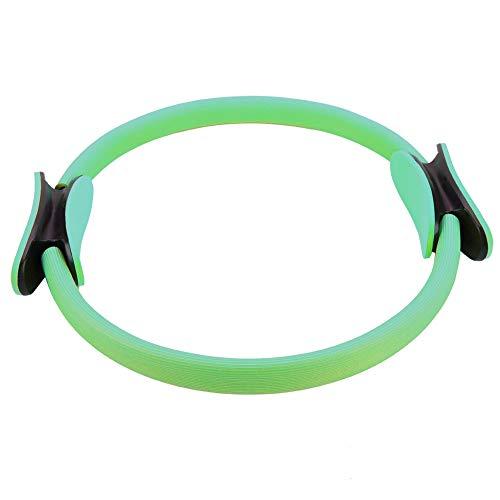 TAKE FANS Yoga 4 colores Dual Grip Training Ring Yoga Pilates Anillo de Resistencia para muslos y piernas Fitness Verde