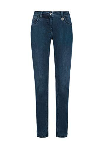 Million X Damen Jeans Victoria superstraight W44 L30, Dark Blue