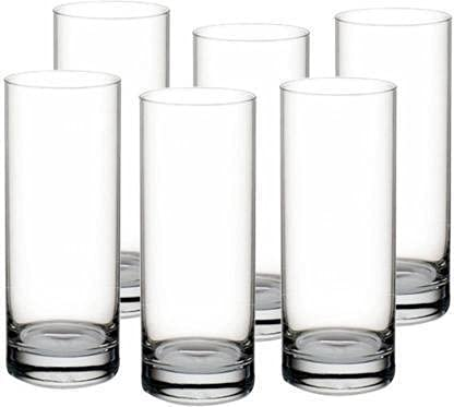 Devish Advance Glass (Pack of 6) Crystal Clear Water Glass Set Glass Set