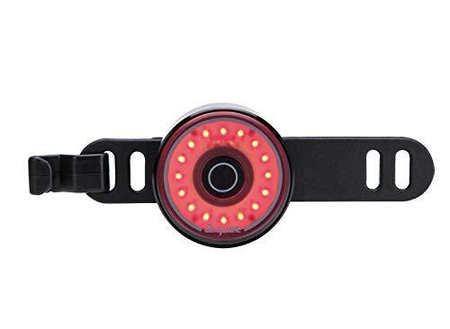 guee LED Sicherheitslicht, bis zu 90 Std. Leuchtdauer, wiederaufladbar, 25 Lumen, Plastikfreie Verpackung, für Rucksäcke, Taschen, Hundehalsbänder, Schieberollstühle, Kinderwägen, Schultaschen