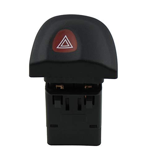Interruptor de lámpara de advertencia de peligro de 8 pines para Megane 7700435867