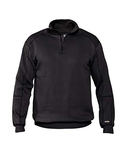 DASSY Sweater Felix Copes (290 gr) SCHWARZ 3XL