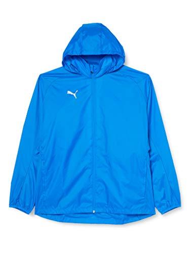 PUMA Herren Liga Training Rain Jacket Core, Electric Blue Lemonade White, L