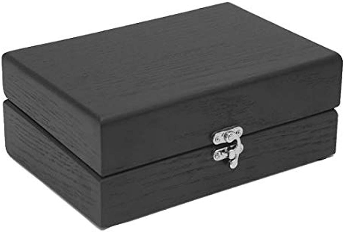 Tea Box Hardwood With 6 Compartments For Tea Bags