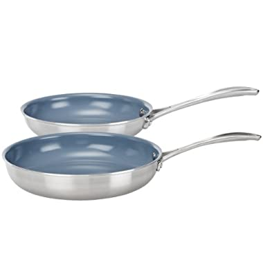 Zwilling J.A. Henckels Spirit 2 Piece Thermolon Frying Pan Set