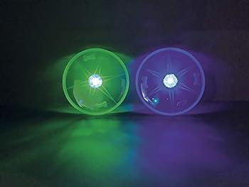 Nobby 77042 Flash Disque LED Bleu Ø 15 cm