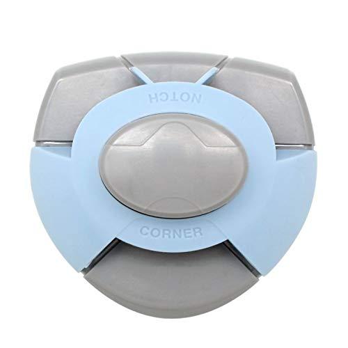 Efco Perforatrice Encoche et Coin, Plastique, Bleu, 7, 5x7 cm