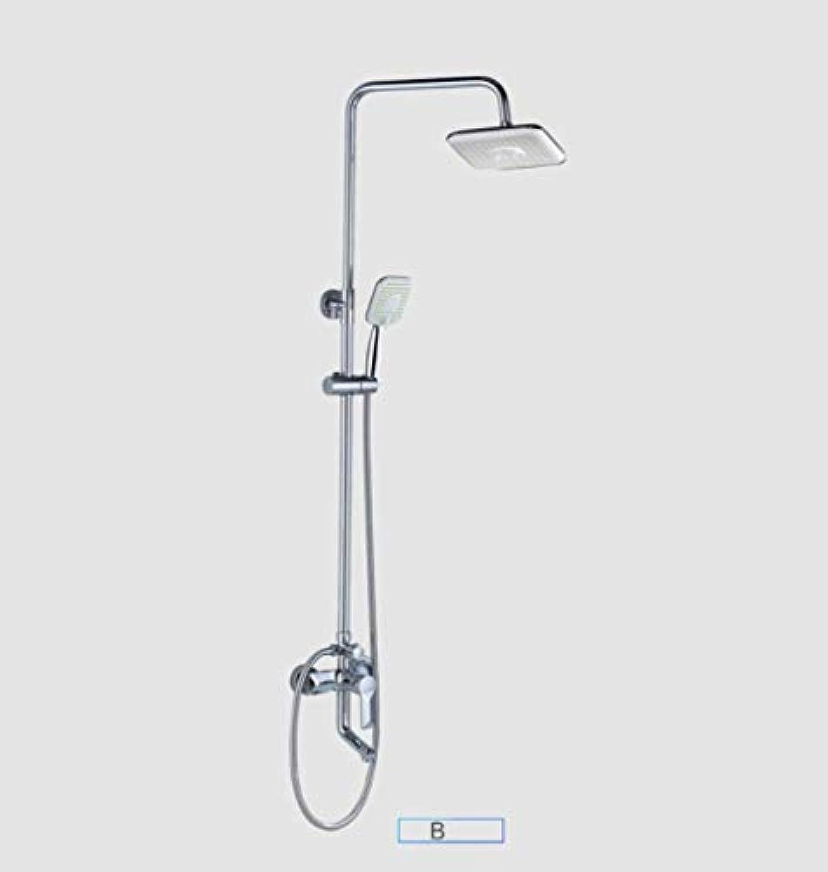 FOTEE Bad-Zubehr - DuschsUle, Edelstahl-Hochdruck-Duschkopf, hilft die Haut zu befeuchten, für die Beste Entspannung und Spa-Behandlungen,B