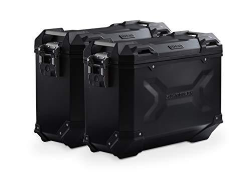 SW-MOTECH - Sistema de maletas TRAX ADV Negro. 37/37 L. Multistrada 1200...