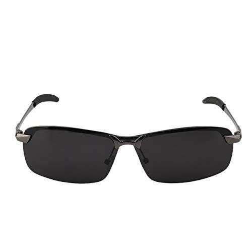 Monllack Nachtsicht Polarisierte Sonnenbrille Brille für das Fahren im Freien Fischen Superleichter Rahmen Weiche Gummi Nose Pad
