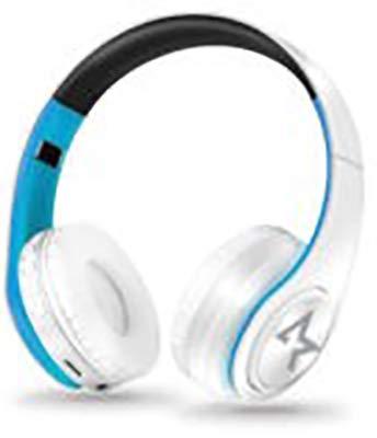 All Star Bluetooth hoofdtelefoon, draadloos, 4.0, over-ear hoofdtelefoon met 10 uur looptijd, draadloze bluetooth-hoofdtelefoon met ingebouwde microfoon, hoofdtelefoon voor tv/mobiele telefoons/pc/tablets, ergonomische kinriem (blauw)