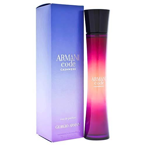 Giorgio Armani Giorgio Armani Armani code cashmere by giorgio armani for women – 2.5 Ounce edp spray, 2.5…