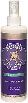 Buddy Splash Dog Deodorizer & Dog Conditioner, Easy Spray-On Formula