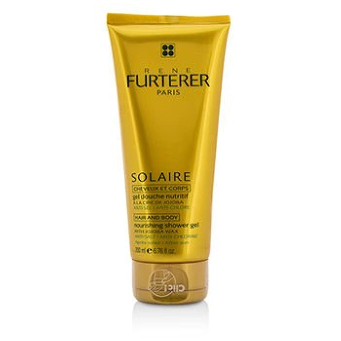タイマー一時解雇する穀物[Rene Furterer] Solaire Nourishing Shower Gel with Jojoba Wax (Hair and Body) 200ml/6.76oz