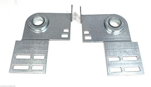 Purchase Garage Door End Bearing Plates - Pair 3 3/8 Residential Brackets