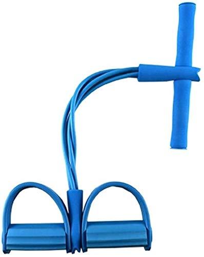 HYM multifunctionele elastische band met trekkoord op de enkel, sit-up trekker, starttrekker, buiktraining, stovepipe stretch touw, buiktraining.