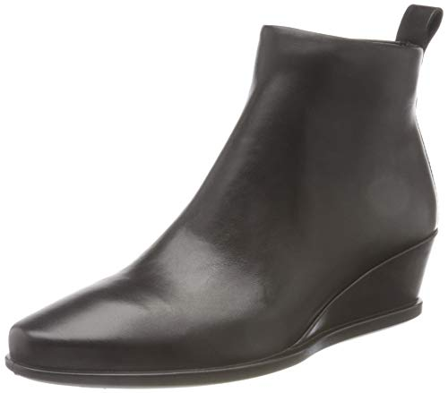 ECCO Damen Shape 45 Wedge Black Dress Stiefelette, Schwarz (Schwarz), 40/41 EU