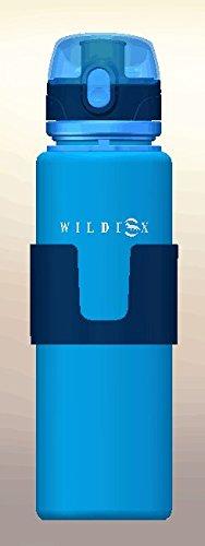 Wildfox Bidon pliable Bleu 350ml