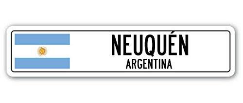 YelenaSign Señal de Calle de Aluminio de la Marca NEUQUEN,