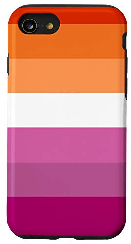 iPhone SE (2020) / 7 / 8 Sunset Lesbian Pride Flag LGBTQ Community Case