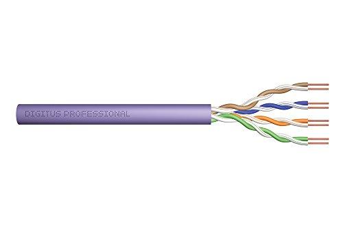 Digitus 305m - Cable de red (305 m, Cat6, U/UTP (UTP), Púrpura)
