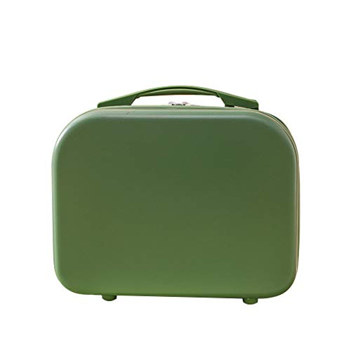 Bciou Mini Travel Hand Luggage Cosmetic Case Small Makeup Carrying Pouch Suitcase