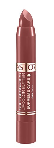 Astor Soft Sensation Lipcolor Butter Supreme Care, 049 Barista, pflegender Lippenstift, 1er Pack (1 x 5 g)