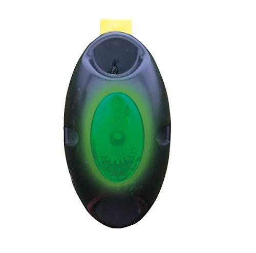 horizont Flash 2000 Zaunprüfer Weidezaun, mit optischer Funktionsanzeige in Grün, grünes Licht erlischt unter 2000V Spannung, unkompliziert in vorhandenes Zaunmaterial einhängen, ohne Erdspieß