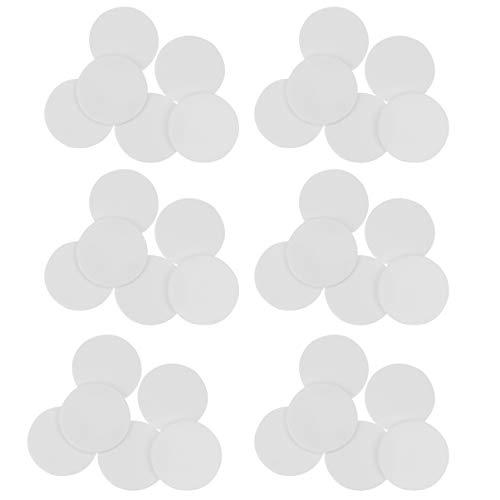 Healifty Fichas de Conteo de Plástico de 100 Piezas Fichas de Bingo de Plástico Rebanadas Redondas Contadores de Juegos de Matemáticas para Barra de Sala de Juegos Escolares (Blanco)