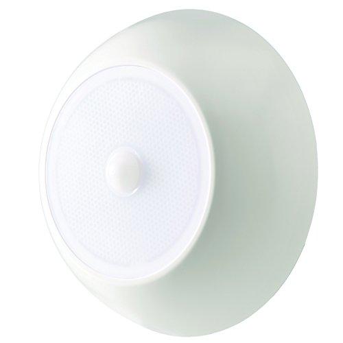 MrBeams batteriebetriebene LED Deckenleuchte mit Bewegungsmelder MB990 weiß