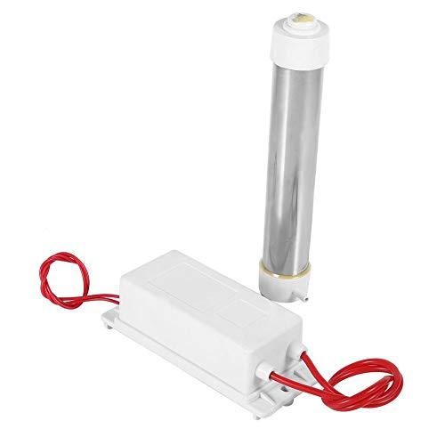 FTVOGUE Tubo generador de ozono de cuarzo para agua, purificador de aire, esterilizador, limpiador 3G 220 V, duradero