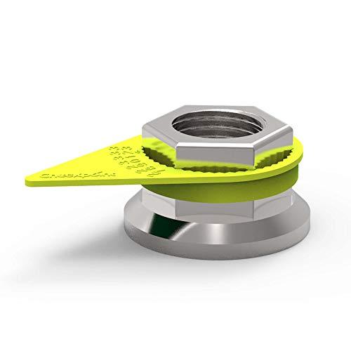 Radmutter Indikator Bison Checkpoint Schlüsselweite 32 | Radmutternindikator LKW, Checkpoint für Radmuttern SW32