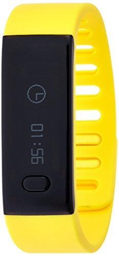 Mykronoz Krezefit-Yellow - Pulsera inteligente para la monitorización de la actividad física, amarillo