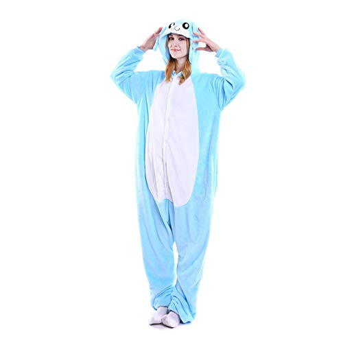 dkjawjcn Pijamas Cosplay Animales Traje Disfraces Couple Unisexo Adulto Animal Ropa de Dormir Halloween