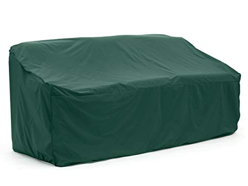 Covermates – Outdoor Patio Sofa Cover – Heavy Duty Material – Water and Weather Resistant – Patio Furniture Covers - Green