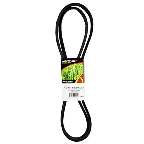 Lawnmower Belt, Black - MaxPower 336388B