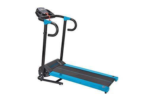 HANKING PLANET Cinta de Correr Plegable - Cinta de Andar electrica compacta con Pantalla LCD y programas de Intensidad - MAX. 10 km/h - 500w. (Azul)