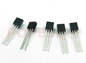 Just-Honest POPESQ® 5 Piezas 5 x TMP36 Sensor de Temperatura TMP 36 / Temperature Sensor Compatible con ARDUINO #A769