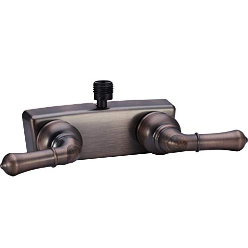 Dura Faucet DF-SA100C-ORB RV Shower Faucet Valve Diverter with Classical Handles (Oil Rubbed Bronze)