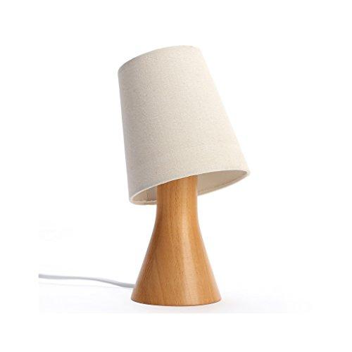 Lampe en bois originale salon étude chambre lampe de chevet chambre de bébé lampe créative veilleuse réglable