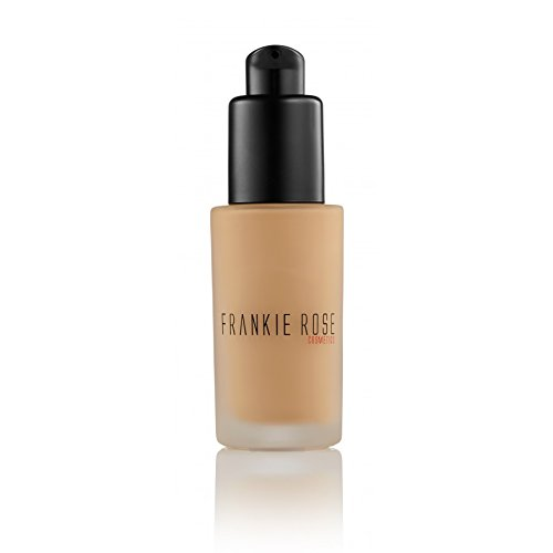 Frankie Rose Cosmetics Matte Perfection Foundation for Dry, Sensitive, Combination, Normal or Oily Skin – Full Coverage, Long lasting, Lightweight, Hydrating - Flawless Complexion - Neutral