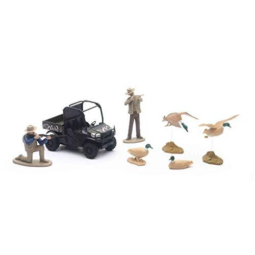 New-Ray Diecast 4' Kubota Camo RTV Duck Hunting Set SS-33463