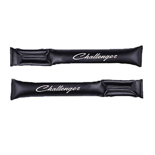 Para Dodge Challenger PU Asiento De Cuero TapóN A Prueba De Fugas TapóN De Asiento TapóN De Relleno DecoracióN Interior Del Coche Asiento De Coche CojíN De Espacio Accesorios De Coche 2 Uds