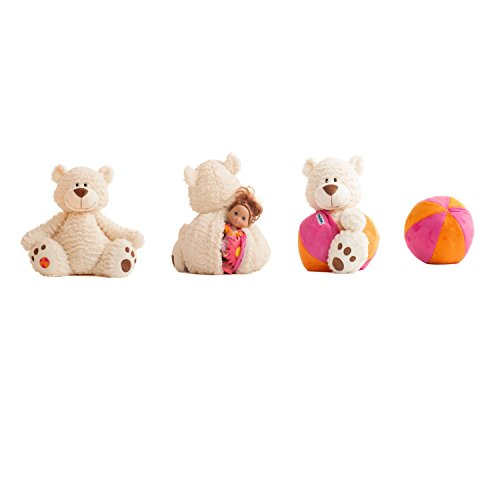 Buddy Balls Landry Teddy Bear Convertible Plush
