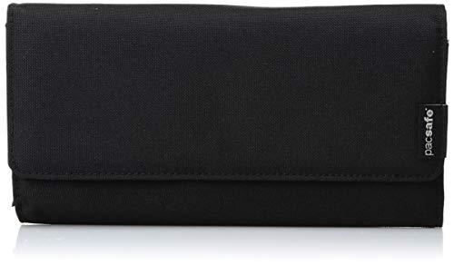 Pacsafe RFIDsafe LX200Diebstahlschutz RFID-blockierender Kupplung Geldbörse, schwarz (schwarz) - PAC10750_1_Noir/100